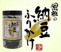 小柳ルミ子さん絶賛の 風雅の納豆ふりかけ!