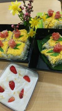ひな寿司を作りました♪