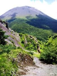 軽井沢より黒斑山へ