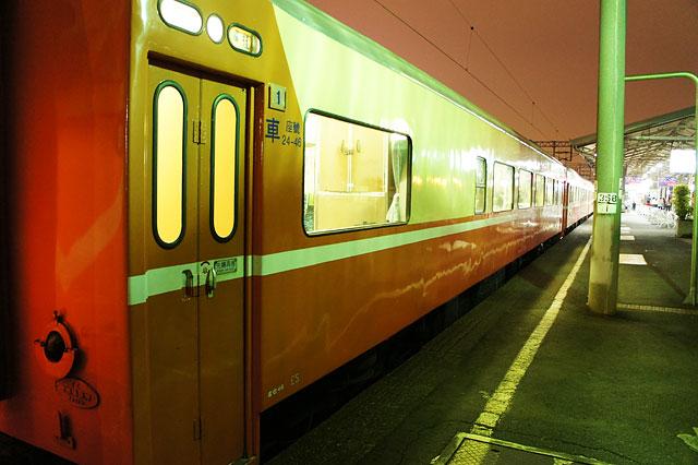【台湾鉄道・嘉義→台南】台南到着・電気機関車を眺める