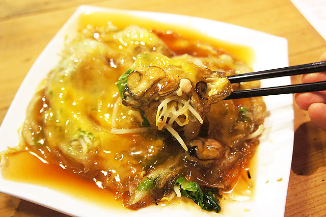 【台湾・台南】赤嵌担仔麺のオアチェンを喰う(≧∇≦)