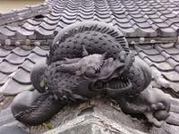 龍とワンコ