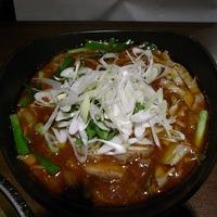 本町2丁目 「炭dining みなみ」 地雷麺