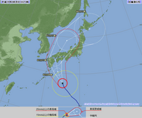 台風5号 最新情報