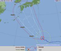 続 台風5号情報