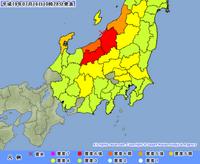 新潟 長野で震度6強!
