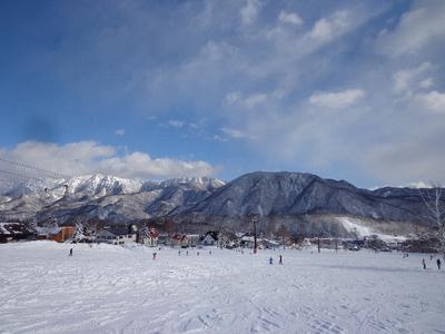 信州・栂池スキー場へ!