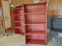 陶芸用の棚をつくりました!