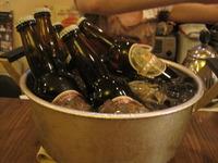 ナギサビール&ピーマンの煮付け!
