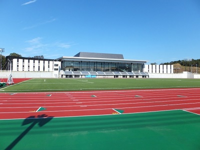 田辺スポーツパークが国の競技別強化拠点施設に指定されました!!