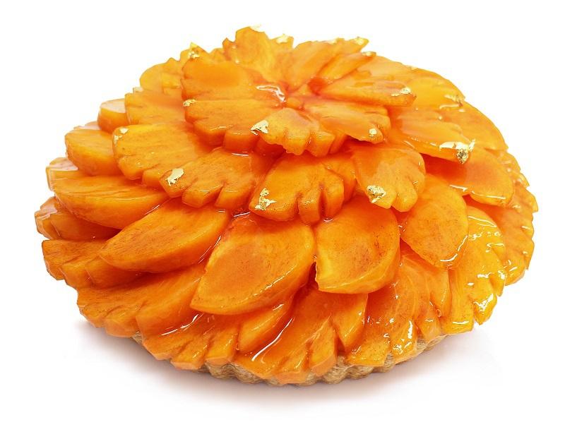 JA紀北かわかみ あま熟富有柿を使った極上ケーキが『カフェコムサ』で販売中です!