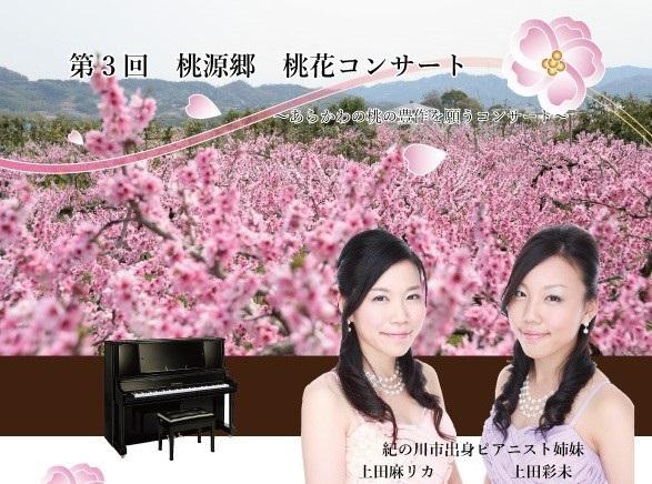 和歌山県クラウドファンディング活用支援対象プロジェクト「満開の桃花の下で演奏会」を新たに認定しました