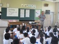 県内小学校等への県産農水産物(もも)の提供について
