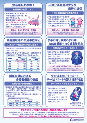 冬 の 交通 安全 運動 2019