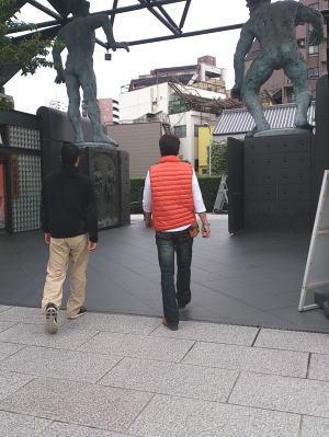 一心寺と大阪城