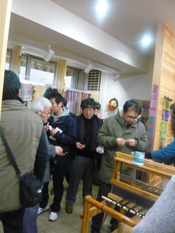 韓国 水島市 ボランティア協会 視察団が訪問
