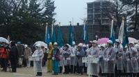 平成29年和歌山市消防出初式に出席。