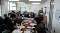 更生保護サポートセンターの視察・保護司、協力雇用主等との意見交換会に出席。