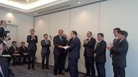党大会終了後、日本会議地方議員連盟全国代表者会議の総会に出席。