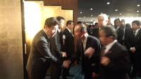 『内閣府特命担当大臣鶴保庸介君と明日の日本を語る会』に出席。