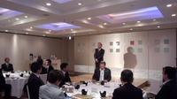 和歌山県老人保健施設協会の懇親会に出席。