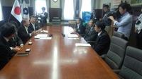 和歌山県と追手門学院大学との就職支援協定調印式に出席。