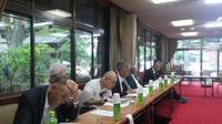 和歌山県護国神社の役員会に出席。