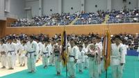 『少年柔道大会』開会式に出席。