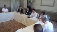 県皮革工業振興対策協議会平成29年度総会に出席。