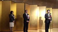 衆議院議員石田真敏君を励ます会  時局講演会・懇親会に出席。