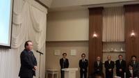 和歌山県理容生活衛生同業組合和歌山支部定時総会に出席。