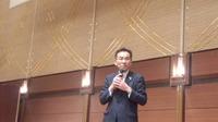 『松井のりひろ君議員活動15 周年・和歌山市議会議長就任を祝う会』に出席。