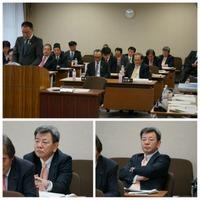 今日と明日の2 日間、予算特別委員会が開かれます。