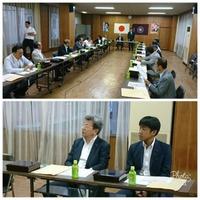 自民党県連にて開催の勉強会に出席。