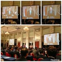 自民党都道府県議会議員研修会2018 に出席。