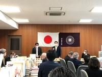 自民党県議団の会派会合に出席。