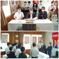 菅 義偉 総裁とリモート対話