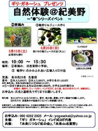 茶摘み・ヨガ・山菜料理