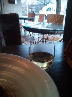 昼間っからワイン
