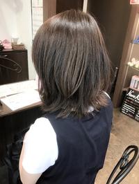 肩ハネミディアム☆透明感カラー