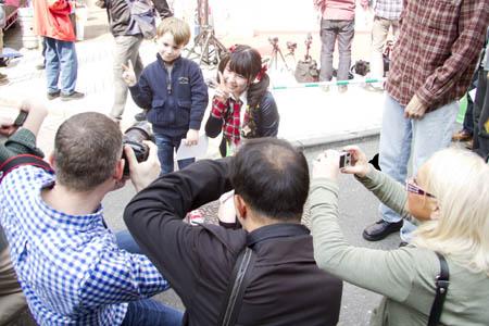 弾丸東京ツアー③渋谷パルコ前スペイン坂広場ライブ