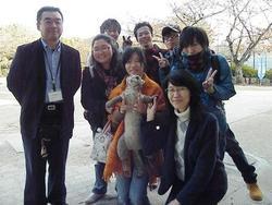 京都市動物園ツシマヤマネコ企画でゼミ生の活躍 プレゼン編