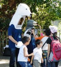 11月12日 大阪市天王寺動物園でガイド実習をおこないます!