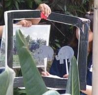 天王寺動物園でガイド実習